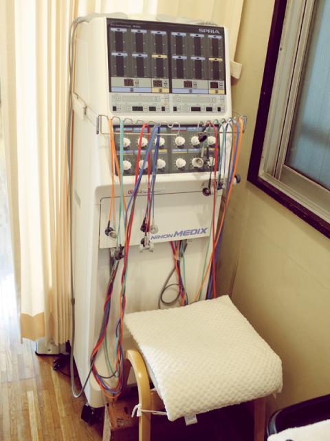 豊島区の衞藤医院 干渉低周波治療器